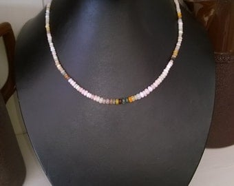New - Shaded opal necklace