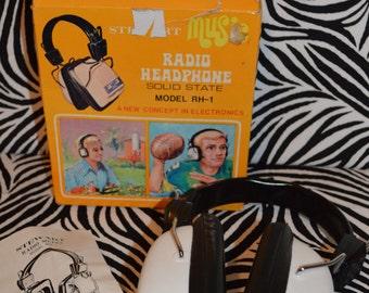 1975 Stewart Radio Headphone