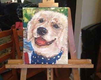 Custom Pet Painting Made to Order