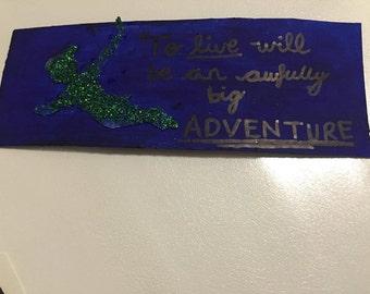 Handmade Disney bookmark