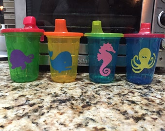 Ocean Pals Sippy Cups