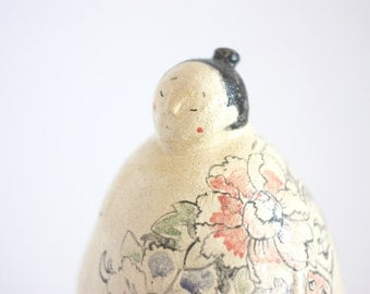 Decorative Sculpture/ Japanese Guy Sculpture/ Ceramic Yakuza/ Tattoo Sculpture/ Home Decor Sculpture