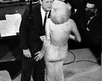 Marilyn Monroe and John F Kennedy