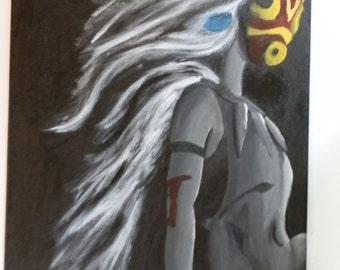 Princess Mononoke Painting