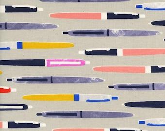 Cotton + Steel- Trinket-Pens in neutral- Melody Miller