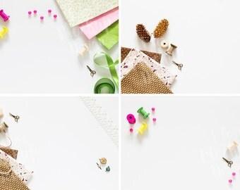 Sewing supplies / Mockup Set / Stock Photography / Product Mockup / High Res File