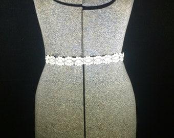 Bridal Belt, Bridal Sash, Swarovski Crsytal Belt, Wedding Accessories, Handmade Jewelry, Free Shipping! (US only)
