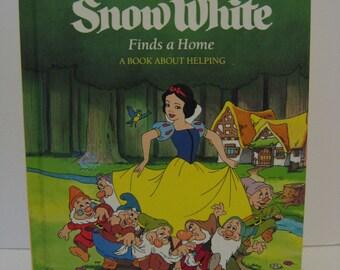 Walt Disney - Snow White - Finds A Home - 1987