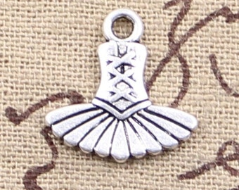 4 Tutu Dancer Pendant