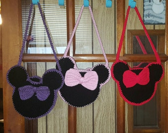Toddler Minnie Mouse purse