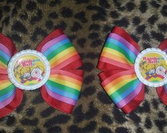2-Rainbow Brite Bows