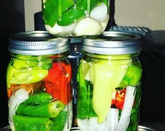 Homemade pepper sauce