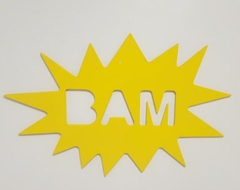 "POSTER COMIC ""BAM"""
