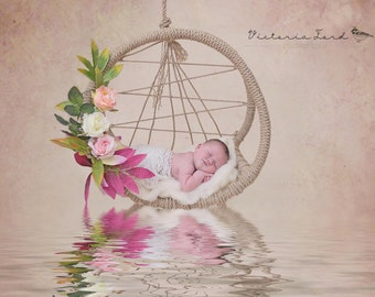 dream catcher hammock photo prop