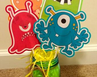 Monster Theme Centerpiece