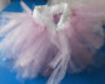 handmade pink sparkles tutu infant toddler SZ 18 months cute