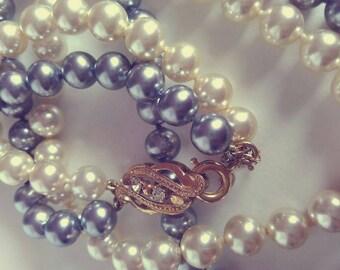 Majórica pearl necklace