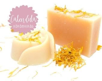 Calendula Marigold handmade soap with shea butter