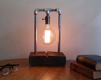Edison Steampunk Lamps Made To Order