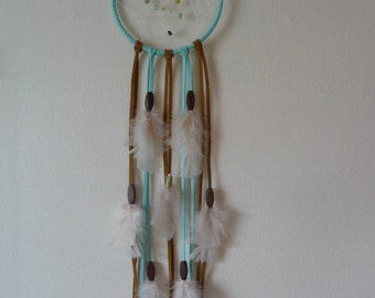 Baby Blue and Green Dream Catcher Nursery