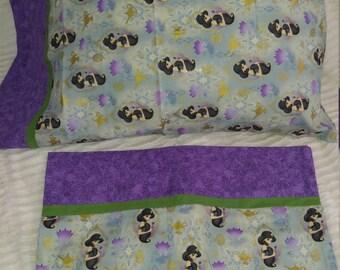 Disney princesses pillowcases