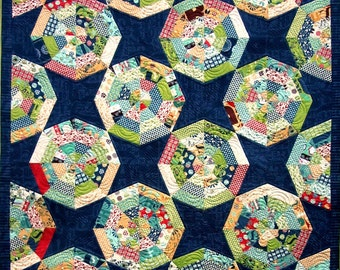 Ferris Wheel Quilt Pattern plus pillow