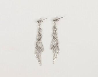 Twist of Fate Silver Earrings