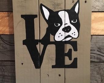 Love - Boston Terrier