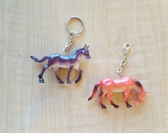 10 Pieces - Realistic 3D Horse Party Favor - Zipper Pulls