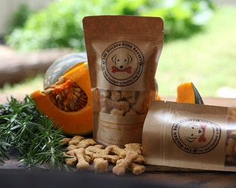 Pumpkin & Rosemary healthy dog treats