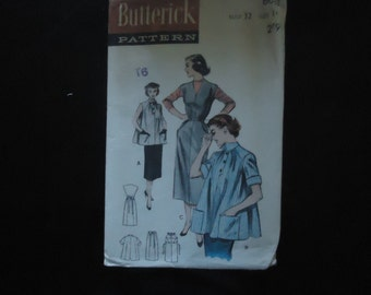 Butterick Late 40's early 50's Maternity Pattern