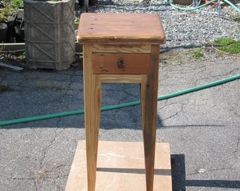 Side table, bedside table, accent table, recycled, up-cycled telephone table