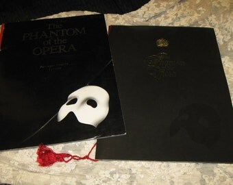 Phantom of the Opera Pantages Theatre Program and Souveneir Book