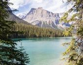 Canada, Emerald Lake, Yoho National Park, Mountains, Nature, Print, Fine Art, Wall Art, Alberta, Canadian Rockies, Nature Photography