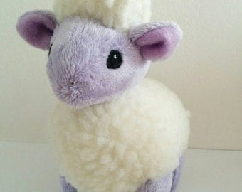 Pastel Purple Sheep Plushie