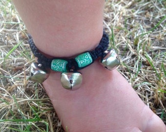 Baby anklet with bells