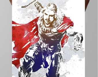 Thor, Odinson, Asgardians, Poster Marvel