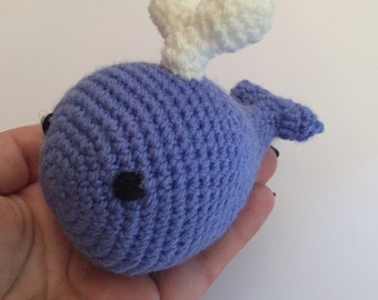 Crochet Little blue whale