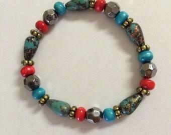 Tropical Turquoise Bracelet