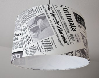 "Ceiling lamp ""Newspaper"""