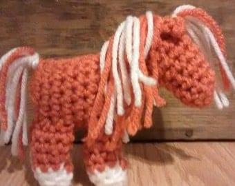 Mini Crochet Pony