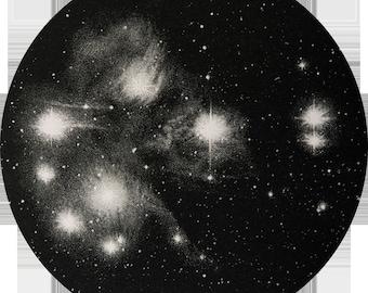 Nebulae in the Pleiades
