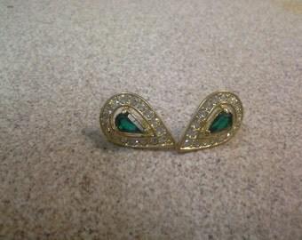 gem stone earings