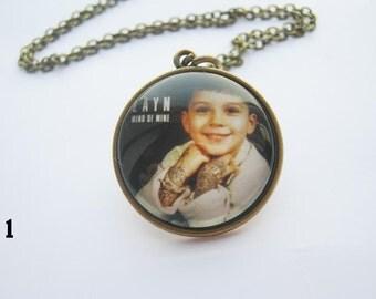 Zayn Malik Necklace, One Direction Jewelry