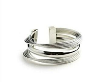 Layered Ring Cuff Bracelet