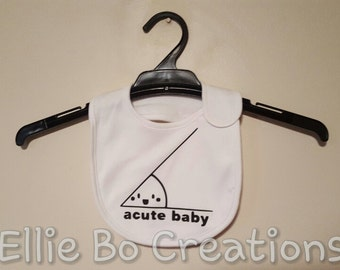 Acute Baby Bib