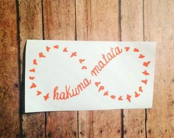 Hakuna Matata Decal - Hakuna Matata Sticker