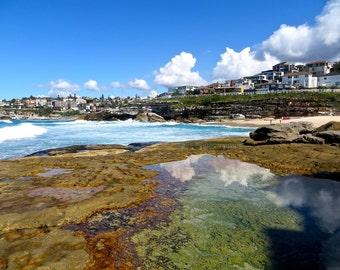 Beach photography, Ocean Photography, Australian Coastline, Tasman Sea