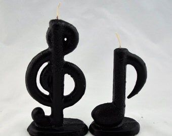 Music Notes Candles - Set