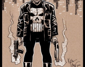 Punisher. 9x12
